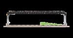 "NMC-RP24-BLANK-AN-1U-MT Коммутационная панель NIKOMAX 19"", 1U, наборная, под 24 угловых модуля Keystone серии AN, UTP/STP"