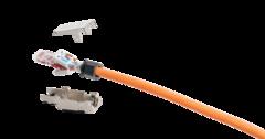 NMC-RJ88SA2-NT-MT Коннектор NIKOMAX RJ45/8P8C под витую пару, Кат.6a (Класс Ea), 500МГц, покрытие 50мкд, универсальные ножи, T568B, самозажимной, полный экран, металлик