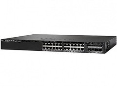 WS-C3650-24PWD-S Коммутатор Catalyst 3650 24 Port PoE 2x10G Uplink w/5 AP licenses IPB