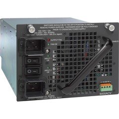 PWR-C45-6000ACV/2 Блок питания Catalyst 4500 6000W AC dual input Power Supply (Data + PoE)