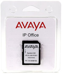 Avaya IPO IP500 V2 SYS SD CARD AL Системная SD карта