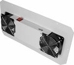 TLK-FAN2-I-GY Вентиляторный блок TLK на 2 вентилятора для шкафов TFI с глубинами 600 и 800мм и TWI с глубинами 450 и 600мм, серый