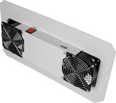 TLK-FAN2-GY Вентиляторный блок TLK для настенных шкафов серии TWC, TWA, 2 вентилятора, без шнура питания, серый