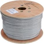 EC-UF010-5-PVC-GY-3 Кабель NETLAN F/UTP 10 пар, Кат.5 , BC (чистая медь), внутренний, серый, 305м