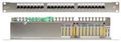 """NMC-RP24SE2-1U-MT Коммутационная панель NIKOMAX 19"""", 1U, 24 порта, Кат.6 (Класс E), 250МГц, RJ45/8P8C, 110/KRONE, T568A/B, полный экран"""