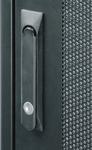 """TFE-476010-GPPP-BK Серверный шкаф 19"""", 47U, стеклянная дверь, перфорированные стенки, Ш600хВ2323хГ1000мм, в разобранном виде, черный"""