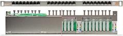 "NMC-RP24SE2-HU-MT Коммутационная панель NIKOMAX 19"", 0,5U, 24 порта, Кат.6 (Класс E), 250МГц, RJ45/8P8C, 110/KRONE, T568A/B, полный экран"