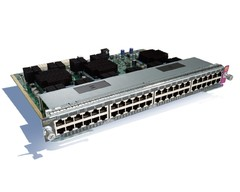 WS-X4748-UPOE+E Коммутатор Catalyst 4500E 48-Port UPOE 10/100/1000(RJ45)