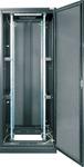"""TFE-426010-GPPP-BK Серверный шкаф 19"""", 42U, стеклянная дверь, перфорированные стенки, Ш600хВ2101хГ1000мм, в разобранном виде, черный"""