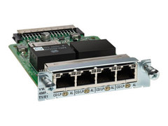 VWIC3-4MFT-T1/E1= Модуль 4-Port 3rd Gen Multiflex Trunk Voice/WAN Int. Card - T1/E1