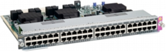 WS-X4748-UPOE+E= Маршрутизатор Catalyst 4500E 48-Port UPOE 10/100/1000(RJ45)
