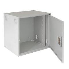 EC-WS-126045-GY Настенный антивандальный шкаф, 12U, Ш600хВ605хГ450мм, серый