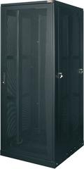"""TFE-478010-GPPP-BK Серверный шкаф 19"""", 47U, стеклянная дверь, перфорированные стенки, Ш800хВ2323хГ1000мм, в разобранном виде, черный"""