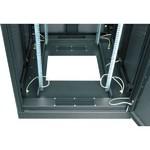 """TFE-336010-PPPP-BK Серверный шкаф 19"""", 33U, перфорированные дверь и стенки, Ш600хВ1701хГ1000мм, в разобранном виде, черный"""