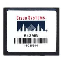 MEM-CF-512MB= Модуль памяти 512MB Compact Flash for Cisco 1900, 2900, 3900 ISR