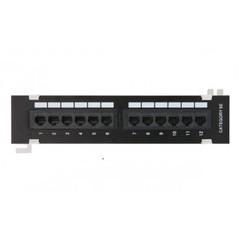 EC-UWP-12-UD2 Коммутационная панель NETLAN настенная, 12 портов, Кат.5e