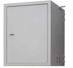 """TWS-156065-M-GY Настенный антивандальный шкаф 19"""", 15U, Ш600хВ767хГ650мм,"""