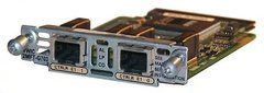 VWIC3-2MFT-G703= Модуль 2-Port 3rd Gen Multiflex Trunk Voice/WAN Int. Card - G.703