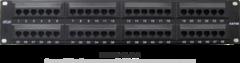 """EC-URP-48-UD2 Коммутационная панель NETLAN 19"""", 2U, 48 портов,"""