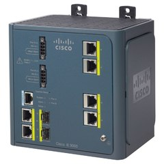 IE-3000-4TC Коммутатор Cisco IE 3000 Switch, 4 10/100 + 2 T/SFP