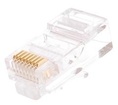 NMC-RJ88RZ50UD1-100 Коннектор NIKOMAX RJ45/8P8C под витую пару, Кат.5e (Класс D), 100МГц, покрытие 50мкд, универсальные ножи, неэкранированный, уп-ка 100шт.