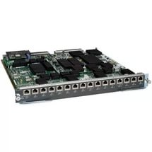WS-X6816-10T-2T= Маршрутизатор Catalyst 6500 16-port 10GbE 10GBASE-T module w/DFC4 S