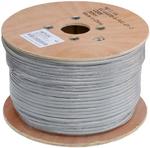 EC-UF025-5-PVC-GY-3 Кабель NETLAN F/UTP 25 пар, Кат.5 , BC (чистая медь), внутренний, PVC нг(B), серый, 305м