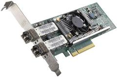 Трансивер DELL NIC Broadcom 57810 DP 10Gb SFP+ FCoE Converged Network Adapter, w/o Tranceivers, Low Profile