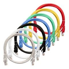 NMC-PC4UD55B-050-C-BL Коммутационный шнур NIKOMAX U/UTP 4 пары, Кат.5е