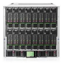 Опция 681842-B21 HP BladeSystem c7000 Sin-Phase 10U Platinum