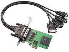 Плата MOXA CP-104EL-A-DB9M