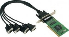 Плата MOXA CP-104UL-DB9M