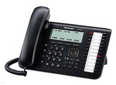 Телефон SIP Panasonic KX-UT136RU-B