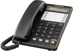 Телефон проводной Panasonic KX-TS2365RUB