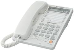 Телефон проводной Panasonic KX-TS2365RUW