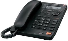 Телефон проводной Panasonic KX-TS2570RUB