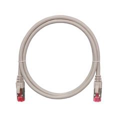 NMC-PC4SA55B-100-GY Коммутационный шнур NIKOMAX S/FTP 4 пары, Кат.6a