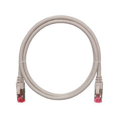NMC-PC4SA55B-003-C-GY Коммутационный шнур NIKOMAX S/FTP 4 пары, Кат.6a