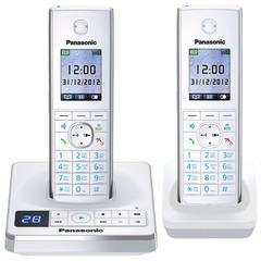 Телефон DECT Panasonic KX-TG8562RUW
