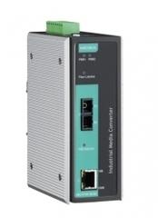 Медиа-конвертер MOXA IMC-P101-S-SC-T