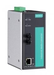 Медиа-конвертер MOXA PTC-101-M-ST-LV