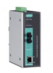 Медиа-конвертер MOXA IMC-P101-S-ST-T