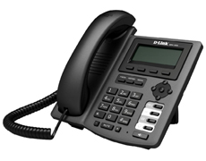 Телефон VoiceIP D-link DPH-150SE/F4B