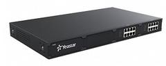 IP АТС Yeastar S100, 100 (до 200) абонентов и 30 (до 60) вызовов, PRI, MFC R2, SS7, поддержка FXO, FXS, GSM, BRI