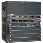 WS-C4507R+E= Маршрутизатор Catalyst4500E 7 slot chassis for 48Gbps/slot, fan, no ps