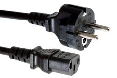 CAB-ACE= Кабель AC Power Cord (Europe), C13, CEE 7, 1.5M