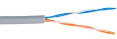 UCA-UU002-PVC-GY Кабель ULAN U/UTP 2 пары, CCA, внутренний, серый, 305м