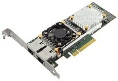 Сетевая карта DELL NIC Broadcom 57810 DP 10Gb BASE-T Network Interface Card, Low Profile - Kit