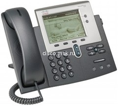CP-7942G-CH1 Телефон Cisco Unified IP Phone 7942 with 1 RTU License