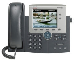 CP-7945G Телефон Cisco Unified IP Phone 7945, Gig Ethernet, Color